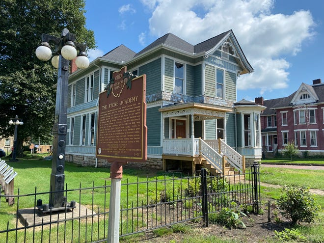 When renovations are complete, the home at 462 Putnam Ave. will become the central location for Muskingum County History's archive. The building is located in front of the Stone Academy, which is currently under construction as well.