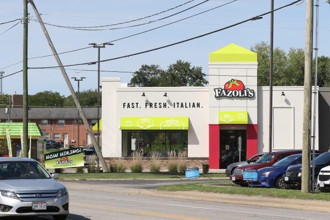 Zanesville's Fazoli's will celebrate its grand opening on Tuesday.