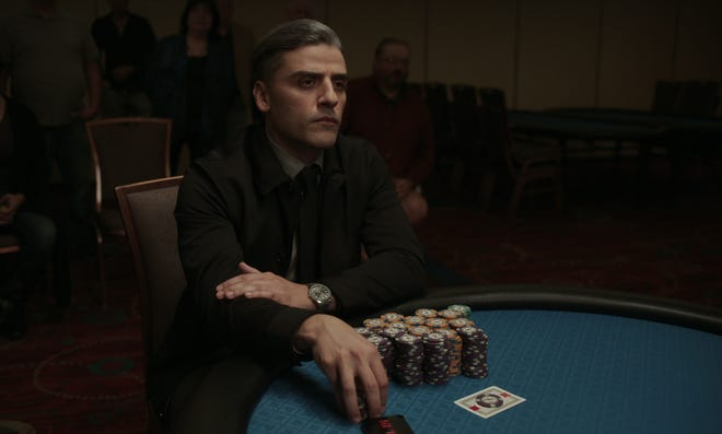 """Oscar Isaac stars as William Tell in """"The Card Counter."""""""