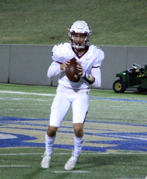 Ardmore's Cal Swanson passed for 204 yards and two touchdowns Friday night in a 27-0 season-opening win over Ada.