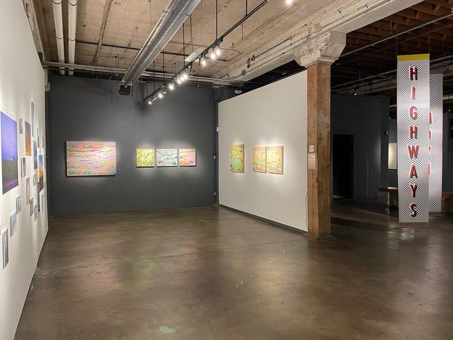 "Oklahoma Visual Arts Coalition's ""Art 365"" exhibit continues through Sept. 18 at Artspace at Untitled."