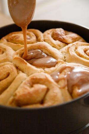 Cinnamon rolls a la Gloria Yoder