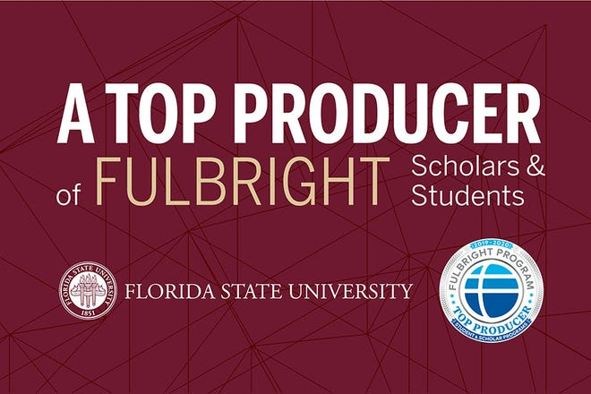 FSU among nation's top-producing institutions of U.S. Fulbright scholars.