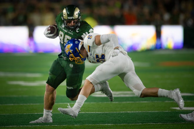 CSU's Trey McBride leads all of Division I college football players in receptions this season.