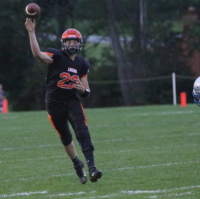 Lucas' Andrew Smollen is back at quarterback and has the Cubs at No. 1 in the Richland County Football Power Poll.