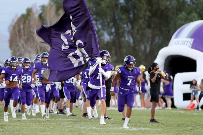 Shadow Hills High School varsity football team is 5-0 for the second time in school history.