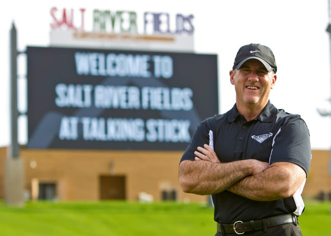 Salt River Fields general manager Dave Dunne has run the venue and overseen its baseball and non-baseball events since it opened in 2011.