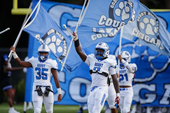 The Lincoln Trojans and Godby Cougars face off at Gene Cox on Friday, Sept. 3, 2021.