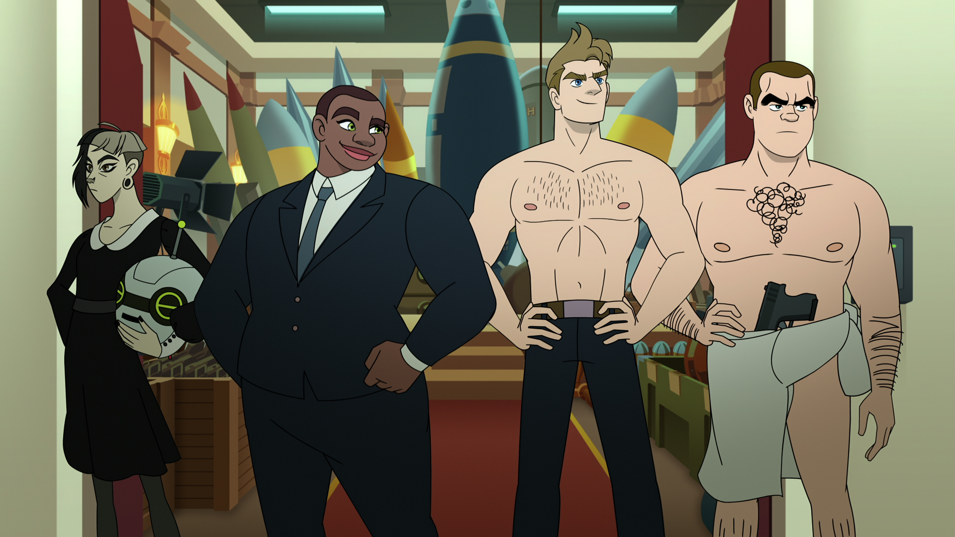 Q-Force : Sean Hayes on bringing  gay James Bond  to Netflix with animated spy comedy