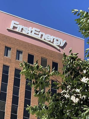 FirstEnergy Corp. headquarters at Cascade Plaza in downtown Akron