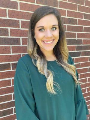 Kaitlyn Richard was named Beauregard Parish Elementary Teacher of the Year.