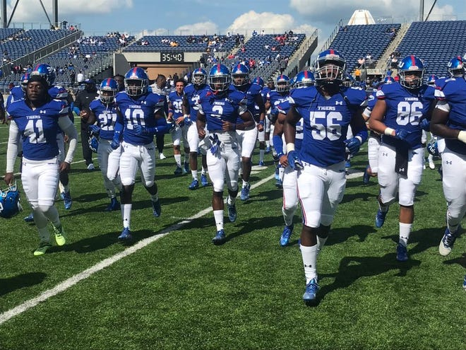 Tennessee State began the Eddie George coaching era Sunday against Grambling state.
