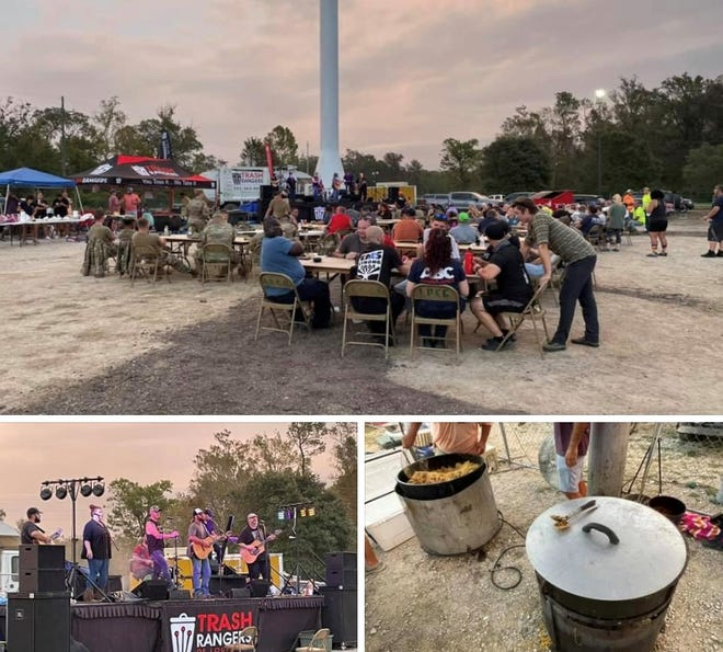 Photos shared by the Ascension Parish Council's Chase Melancon show scenes of music, food, and relaxation at the Lamar Dixon Expo Center in Gonzales.
