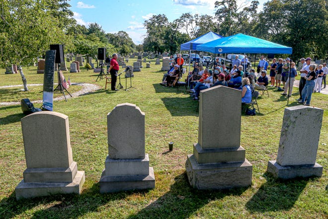 The Rhode Island Labor History Society holds its annual Labor Day commemoration on Monday at the Moshassuck Cemetery in Central Falls, site of the bloody 1934 confrontation between striking textile workers and state troopers.