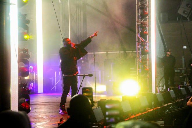 Joyner Lucas headlined Joyner Fest Sept. 5 at the Palladium, his first local concert since 2017.