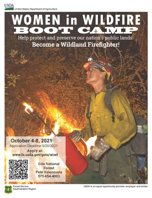 Women in Wildfire Boot Camp.
