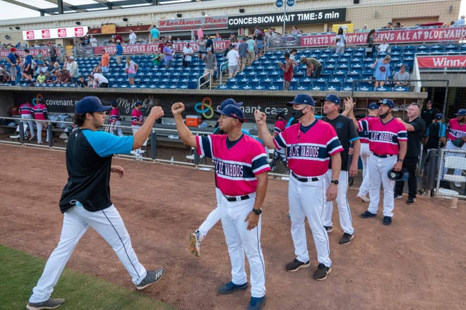 The Blue Wahoos enter their final home series on Tuesday against the Biloxi Shuckers in second-place and strong position for playoff chase in Double-A South league.