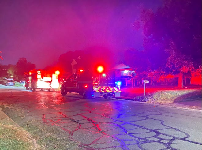 Wichita Falls firefighters responded to a a house fire Monday morning on Wenonah Boulevard.