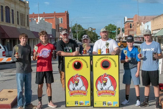This year's Smithville Wingfest & Chili Cook-A-Roo on Sept. 25 will feature a cornhole tournament.