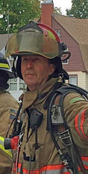 Captain Kent Peterson has just retired as a firefighter after 33 years of service to the Boone Fire Department.