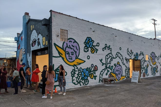 Murals, music and family activities are a big part of the 934 Fest in the Milo-Grogan neighborhood.