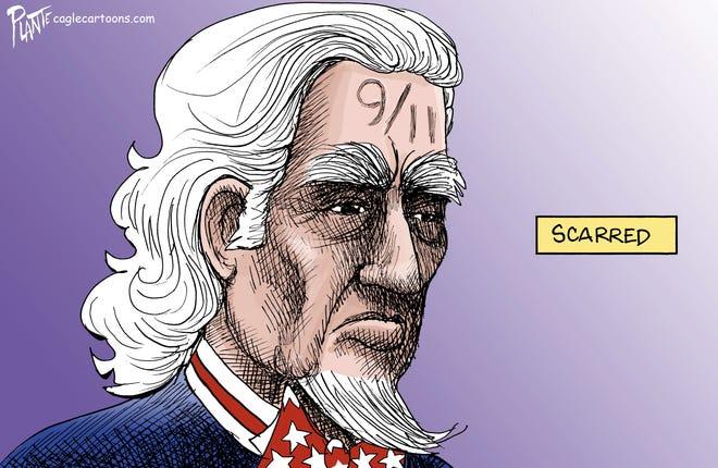 20 years ago cartoon by Bruce Plante, PoliticalCartoons.com.