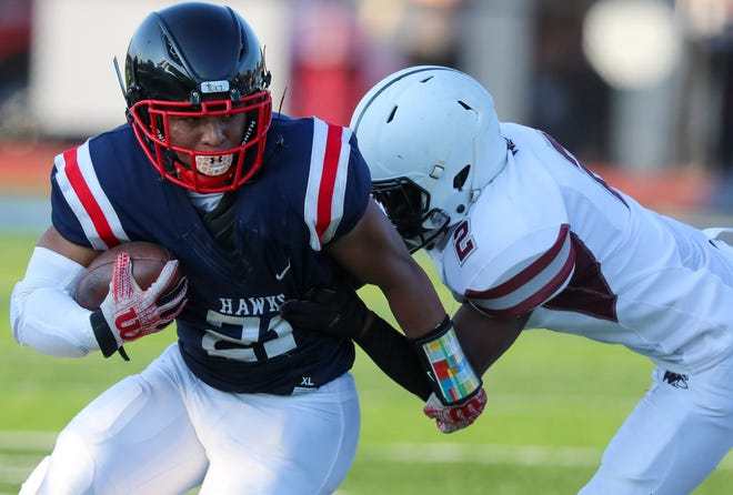 Nyal Johnson and Hartley are preparing to face Cleveland Benedictine on Sept. 10. Johnson rushedfor 188 yards and one touchdown in a 48-21 win over Canal Winchester on Sept. 3.