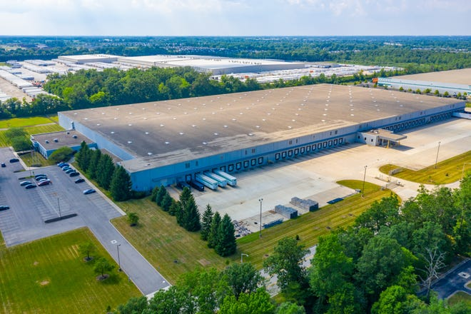 This Grove City warehouse is being turned into a manufacturing facility that will make nitrile gloves.