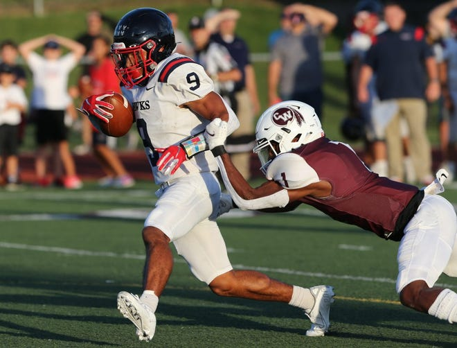 Hartley's Trey Saunders earned our Player of the Week honor for Week 3, based on a staff vote.