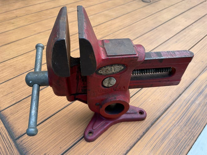 A  Versa-Vise made by the Will-Burt Co.