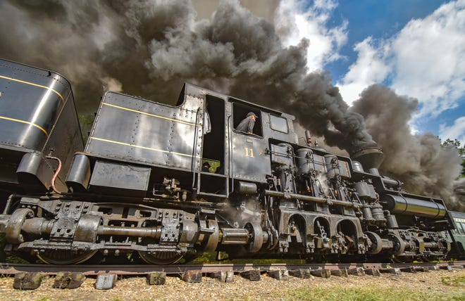 """""""Train"""" by Michelle Wittensoldner will be on display at the Johnson-Humrickhouse Museum in Coshocton from Sept. 25 through the end of the year."""