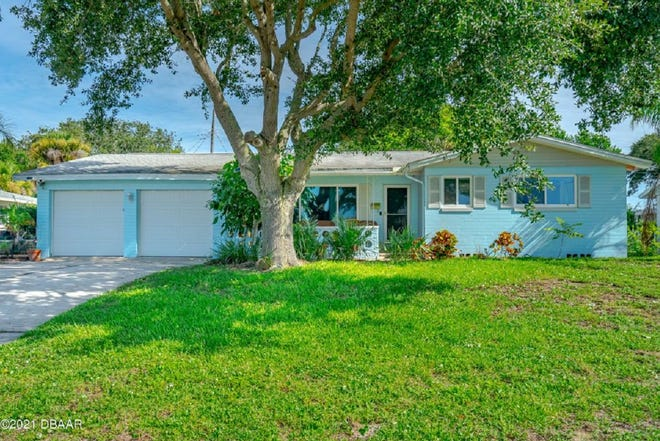 If beachside living is where you want to be, then you should see this three-bedroom, two-bath, concrete-block home in a highly sought-after area of Ormond Beach.