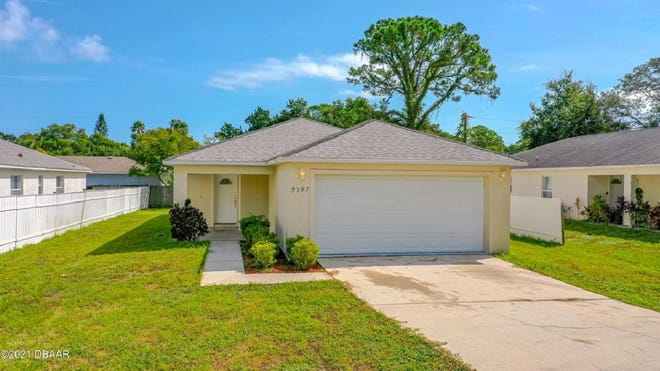 This beautiful, three-bedroom, two-bath home in the heart of Port Orange is a must see.
