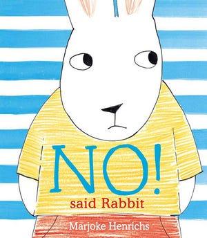 """No! Said Rabbit"" by Marjoke Henrichs"