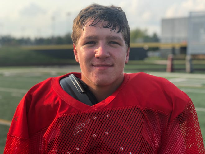 Galesburg High School junior Tristan Legate had his best game under center as a member of the Silver Streaks' football team last Friday night at Morton.