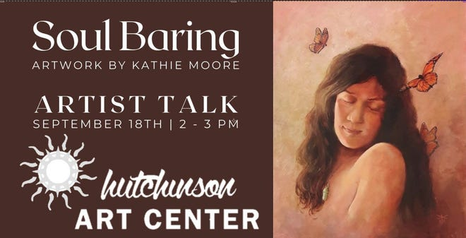 Kathie Moore would be speaking on Sept. 18th from 2-3 p.m.