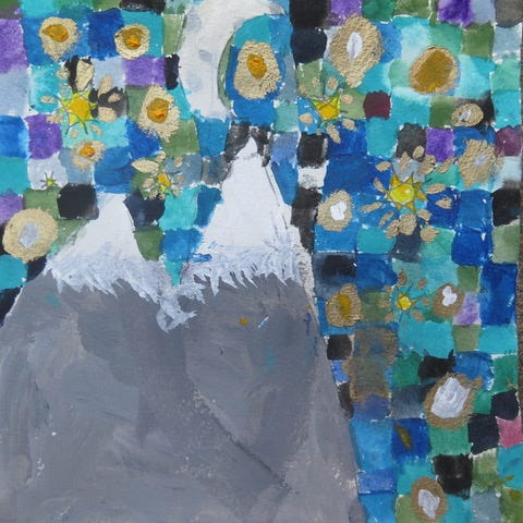 Mountains in the Moonlight, Gillian Vigil, age 8