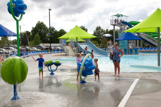 Daily Express file photo of the outdoor pool at the Kirksville Aquatic Center.