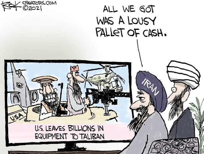 Today's editorial cartoon (Sept. 8, 2021)