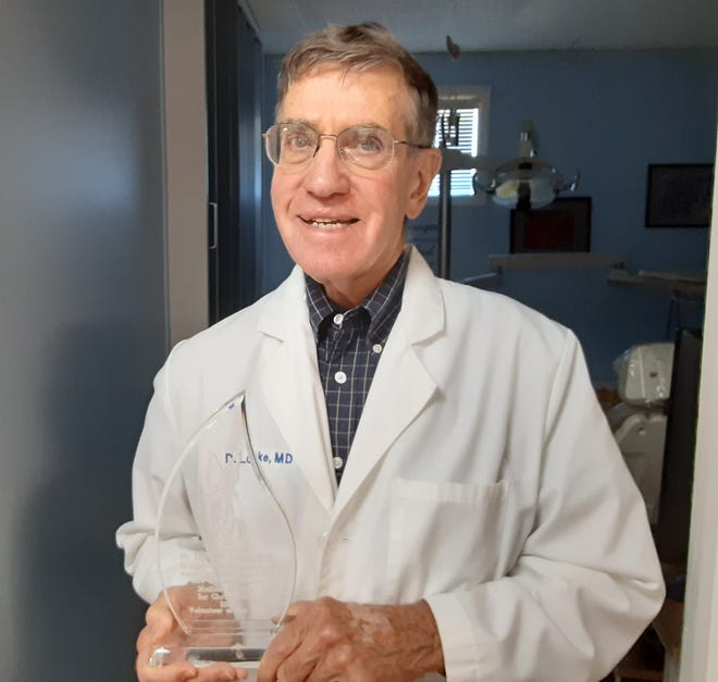 Dr. David Lucke, M.D., MM4C Volunteer of the Year.