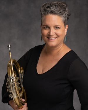 Kate Pritchett is the principal horn player for the Oklahoma City Philharmonic.