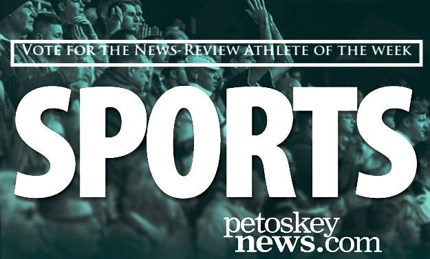 Vote for the Petoskey News-Review Athlete of the Week.