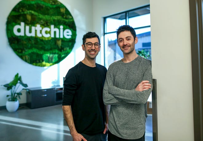 Ross Lipson, left, and Zach Lipson are the co-founders of Dutchie, a Bend cannabis sales software firm.