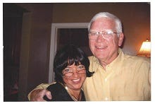 Kathy Scheuerman and her late husband, Sharm, are the co-founders of Basketball Club International.