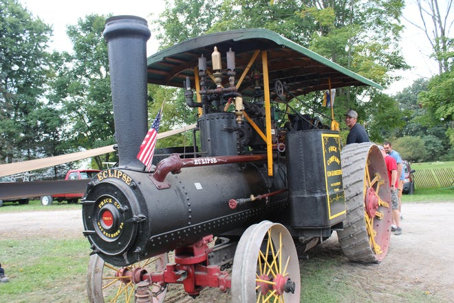 The New Centerville Jubilee brings out steam engines as part of the history, as shown here in 2019. This year's 69th event is set for today through Sunday.