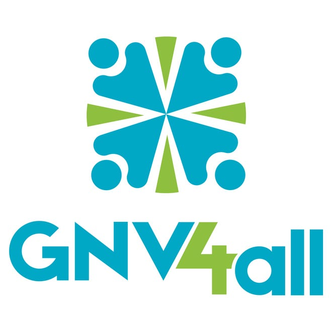 Gainesville For All's logo