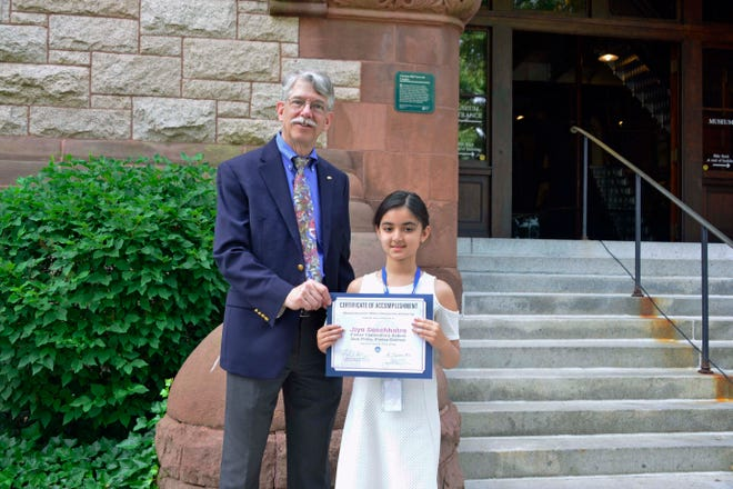 The Massachusetts Water Resources Authority recently announced that Walpole student Jiya Sonchhatra, a second grader at Fisher Elementary, was the second place poster winner in the kindergarten to second grade poster category of the MWRA annual Poster and Writing Contest.