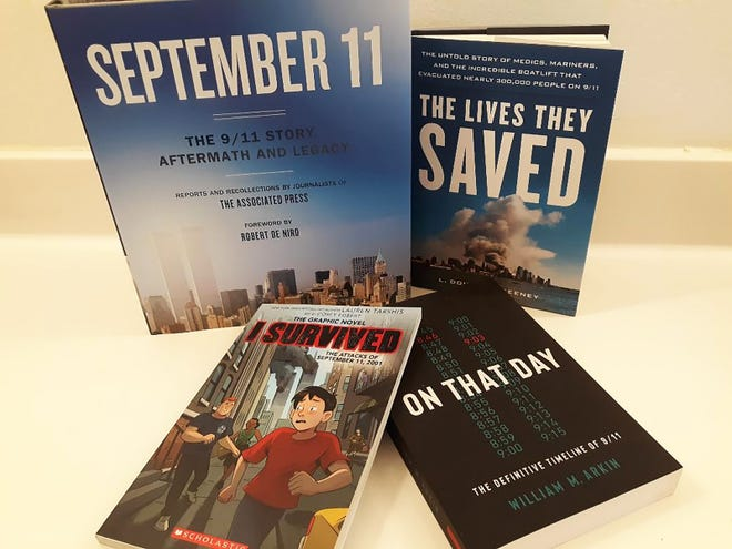 Books about September 11 from various authors.
