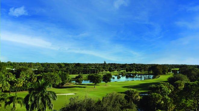 Residents at Moorings Park enjoy stunning garden, lake and golf course views.