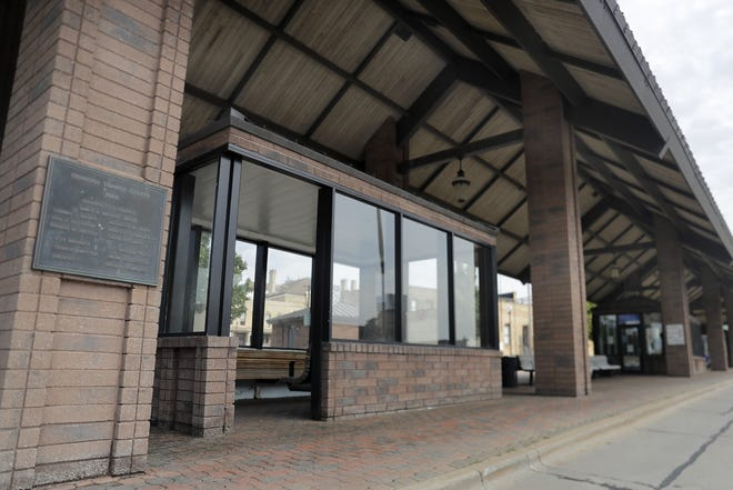 The Oshkosh Plan Commission approved building plans for GO Transit to make updates to its downtown transit center, 110 Pearl Ave., shown here on Tuesday.